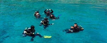 Dragoman PADI Scuba Diver Kursu