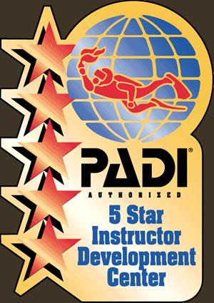 Dragoman PADI 5 Star Instructor Development