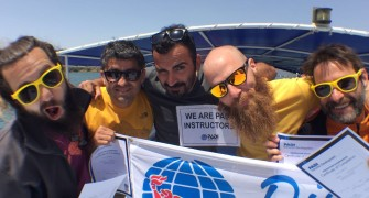 Our new PADI Instructors…