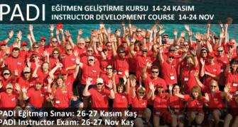 PADI Instructor Development Courses in November