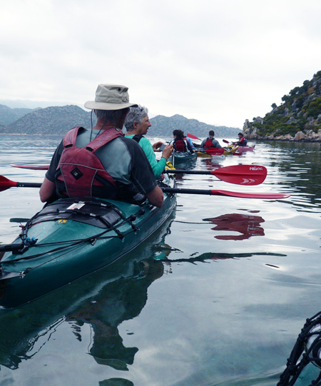 Coast of Light Sea Kayaking Tour