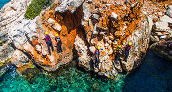 Dragoman Kıyı Traversi (Coasteering)