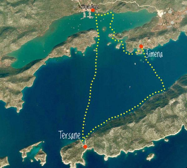 Dragoman Kekova Klasik Deniz Kanosu Turu